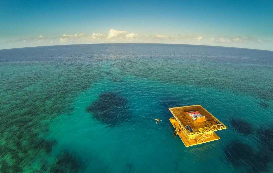 Afrikas erstes unterwasserhotel mit den fischen schlafen for Habitacion de hotel bajo el mar