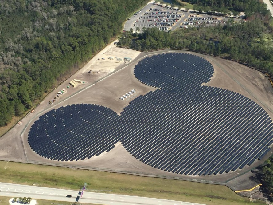 Mickey Maus F 246 Rmiger Solarpark In Der Walt Disney World